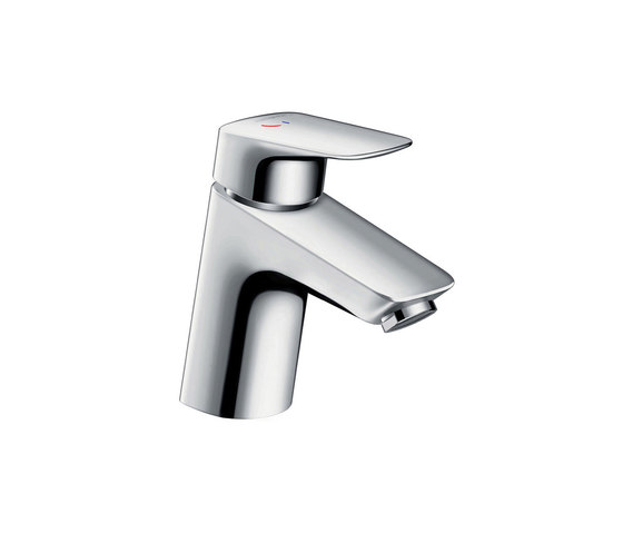 hansgrohe Logis Single lever basin mixer 70 CoolStart with pop-up waste set by Hansgrohe | Wash basin taps
