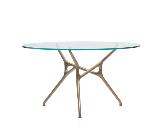 Branch Bronzo by Cappellini | Restaurant tables