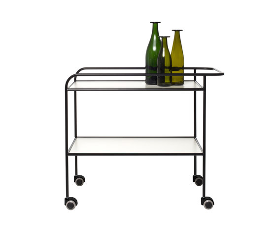 Steel Pipe Drink Trolley by Cappellini | Tea-trolleys / Bar-trolleys