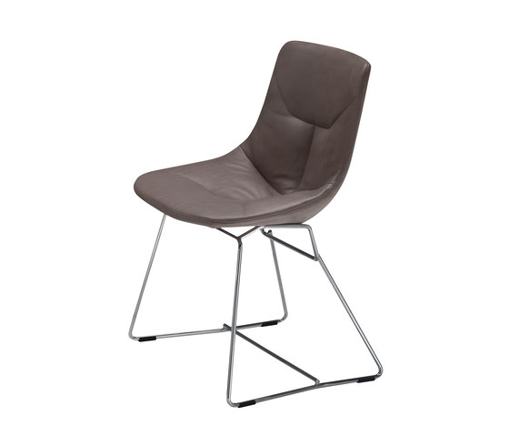 Corina | 2100 by Zanotta | Visitors chairs / Side chairs