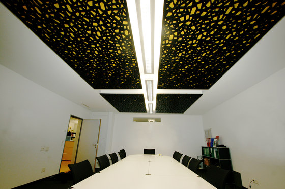 Room Acoustics by Bruag | Ceiling systems