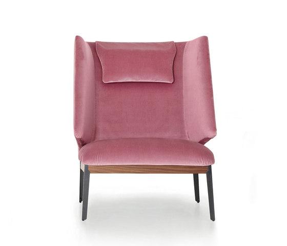 Hug armchair highback by ARFLEX   Armchairs