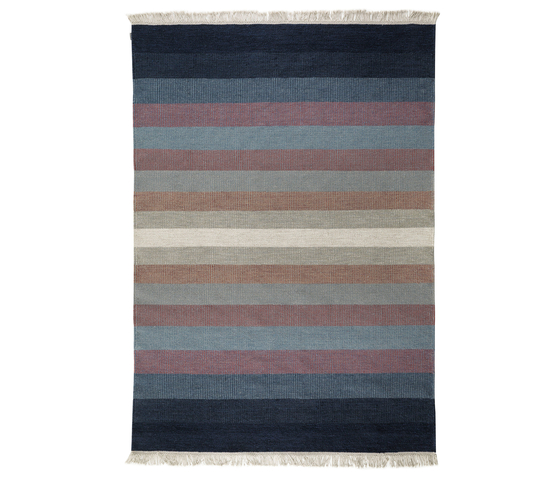 Tofta wave blue by Kateha | Rugs