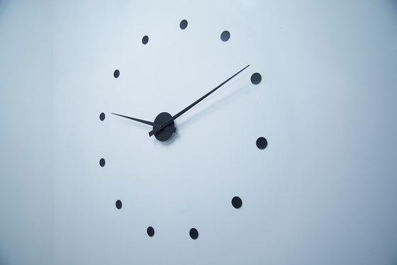 Wall clock black clocks from radius design architonic - Radius design wanduhr ...
