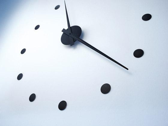wall clock black by Radius Design | Clocks