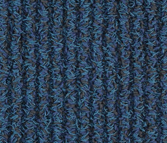 Camelia Loop blue von Kateha | Formatteppiche