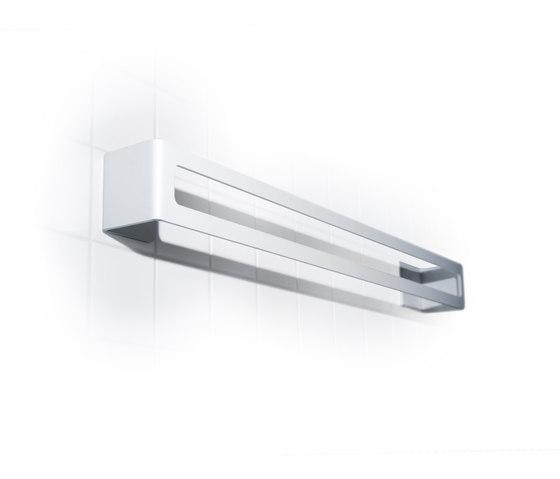 radius puro bath towel holder by Radius Design | Towel rails