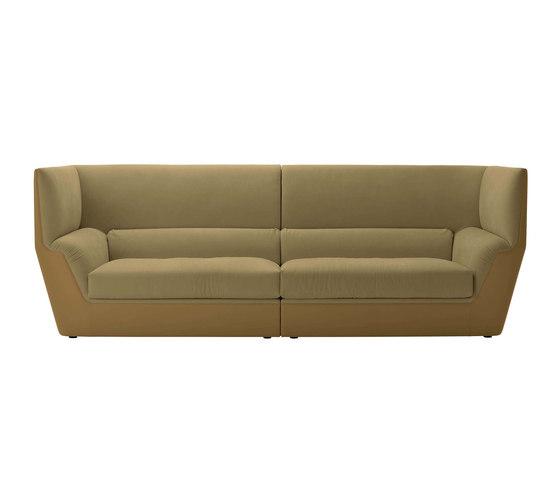 Cocoon high sofa by Fendi Casa | Lounge sofas