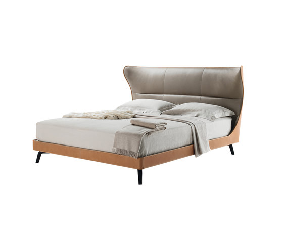 Mamy Blue Bed by Poltrona Frau | Double beds