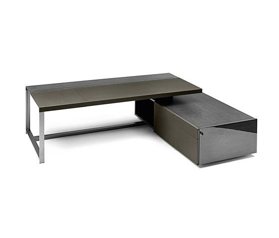 Jobs President Desk by Poltrona Frau | Executive desks