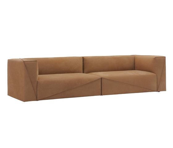 Diagonal sectional sofa by Fendi Casa | Sofas