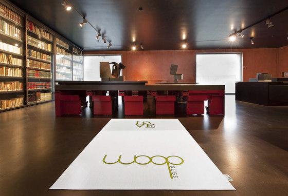 Pléyades | Sisal Plain White / Mackey 6 by WOOP RUGS | Rugs / Designer rugs