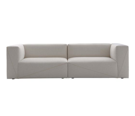 Diagonal sectional sorfa by Fendi Casa | Lounge sofas