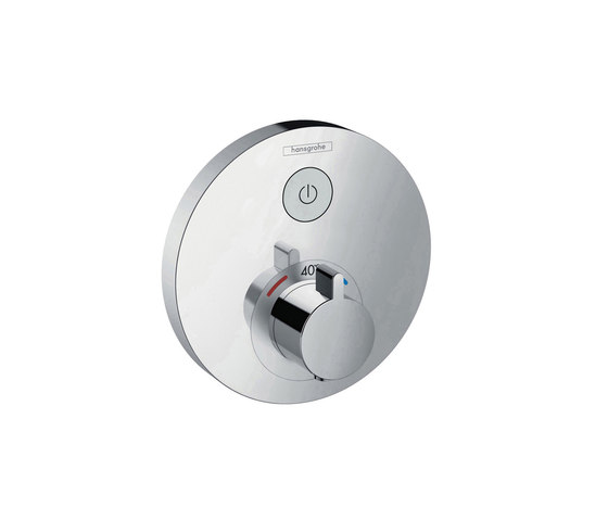 hansgrohe ShowerSelect S Thermostatic mixer for concealed installation for 1 function by Hansgrohe | Shower controls