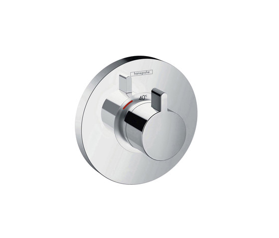 hansgrohe ShowerSelect S Thermostatic mixer highflow for concealed installation by Hansgrohe | Shower taps / mixers