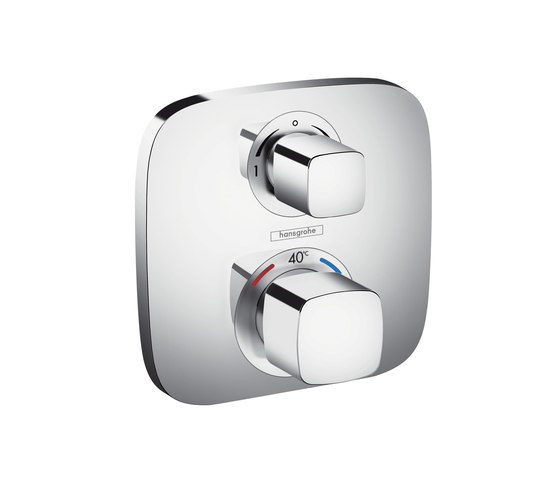 Hansgrohe Ecostat E thermostatic mixer for concealed installation for 2 functions by Hansgrohe | Shower taps / mixers
