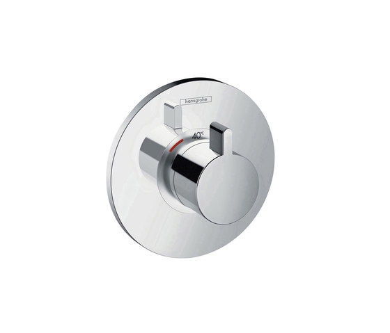 hansgrohe Ecostat S Thermostatic mixer highflow 59 l/ min for concealed installation by Hansgrohe | Shower controls