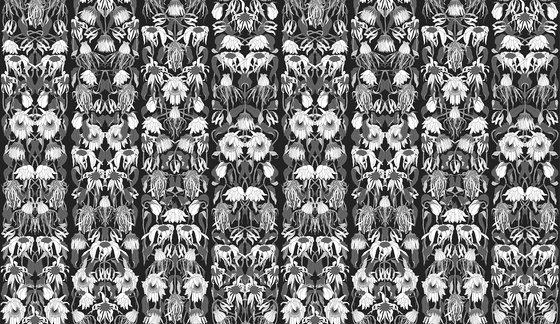 Archives Wallpaper ARC-06 Withered Flowers by NLXL | Wall coverings / wallpapers