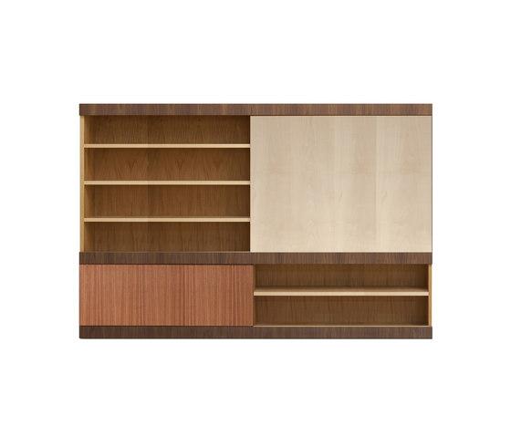 Maschera bookcase by Morelato | Wall storage systems