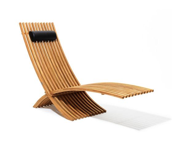 Nozib sun lounger by Skargaarden | Sun loungers