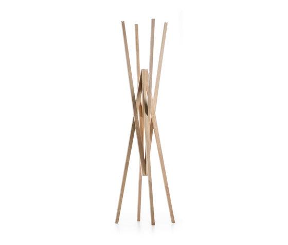 Simetria coat hanger by Prostoria | Freestanding wardrobes