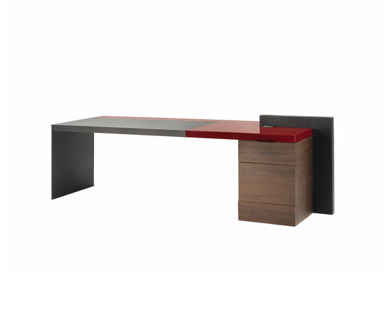 H_O Executive Desk by Poltrona Frau | Individual desks