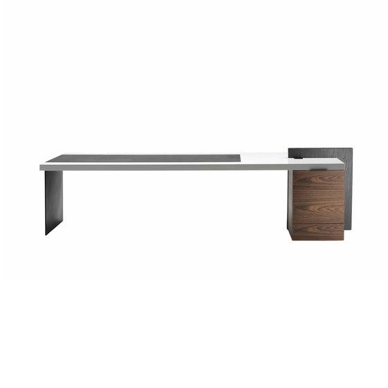 H_O President Desk by Poltrona Frau | Individual desks