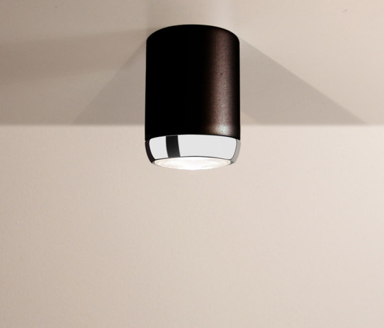 Boogie Extension 15 LED Ceiling lamp black by Luz Difusión | General lighting
