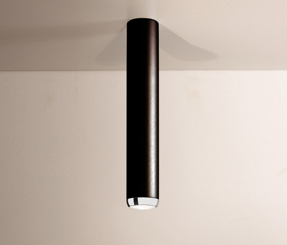 Boogie Extension 75 LED Ceiling lamp black by Luz Difusión | General lighting