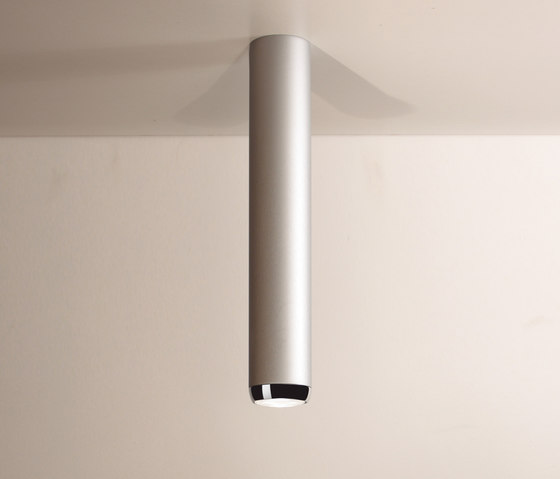 Boogie Extension 75 LED Ceiling lamp grey by Luz Difusión | General lighting