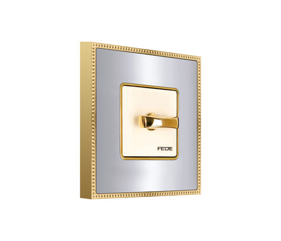 Belle Époque Metal Switch by FEDE | Rotary switches