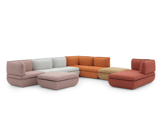 Mimic by De Padova | Modular seating systems