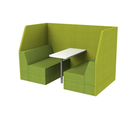 Bricks Work by Palau | Lounge-work seating