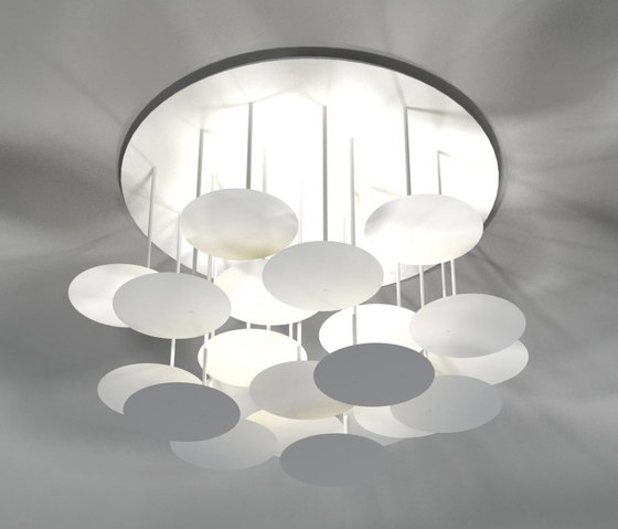 millelumen circles ceiling by Millelumen | Ceiling lights