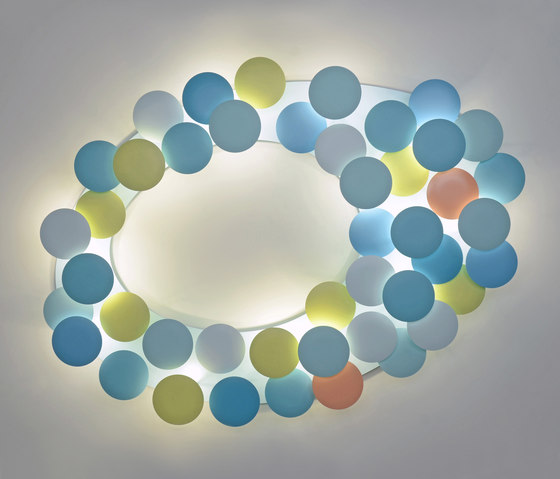 millelumen circles ceiling by Millelumen | General lighting
