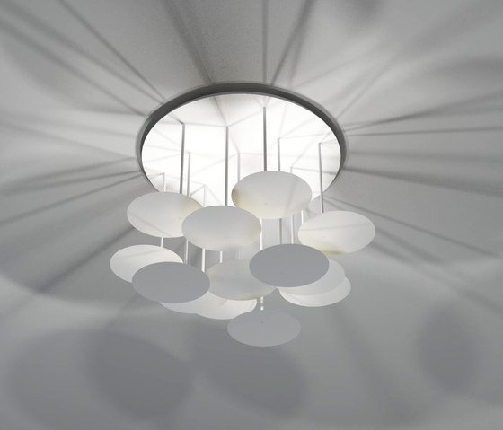millelumen circles ceiling de Millelumen | Plafonniers