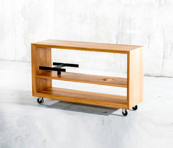 Panier Trolley von QoWood | Trolleys