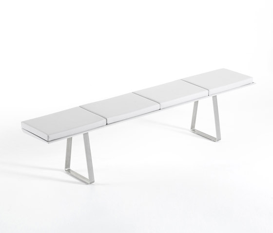 Extrados banc large by EGO Paris | Garden benches
