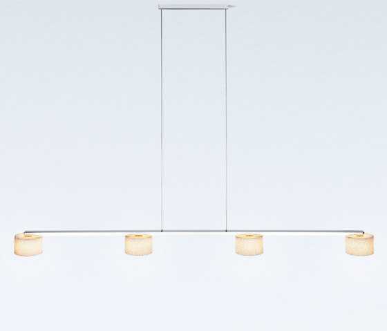 Reef LED Suspension with 4 shades by serien.lighting | Suspended lights