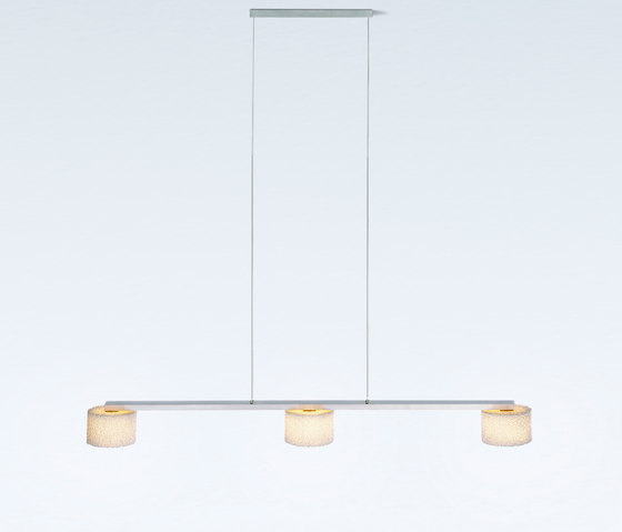 Reef LED Suspension with 3 shades by serien.lighting | General lighting