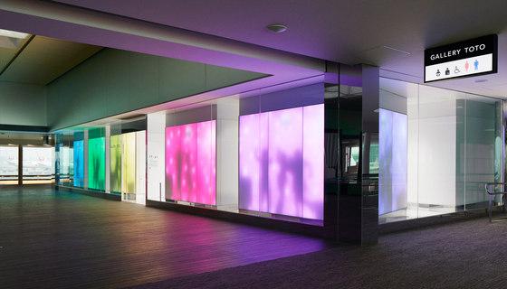 Philips luminous textile with Kvadrat Soft Cells de Large Luminous Surfaces (Signify) | Lámparas especiales