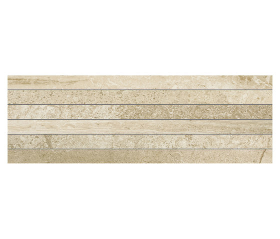 Selection Muretto Listello Beige by Refin | Ceramic tiles