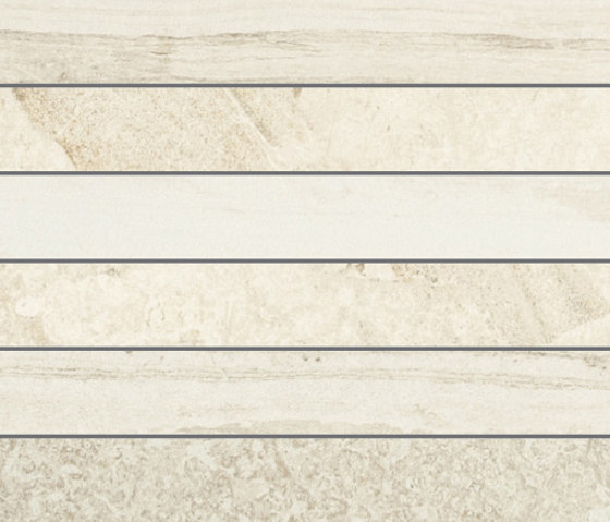Selection Muretto Listello Ivory by Refin | Ceramic tiles