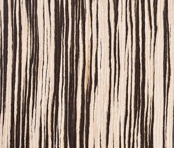 Parklex Skin Finish | Reconstituted Zebrano von Parklex | Wand Furniere