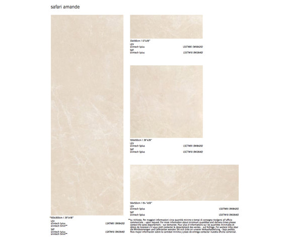 Slimtech 5Plus Timless Marble | Safari Amande by Lea Ceramiche | Facade cladding