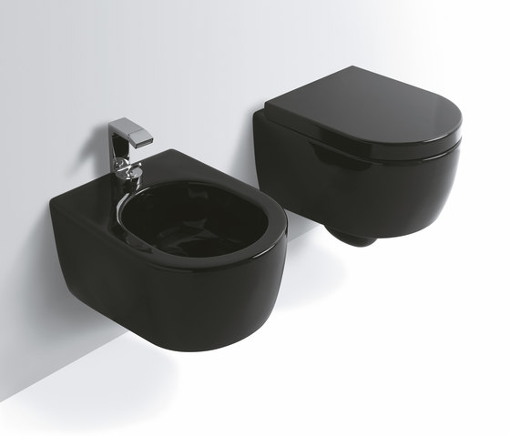 Smile di ceramica cielo lavabo rettangolare 50 lavabo for Lavandini sospesi