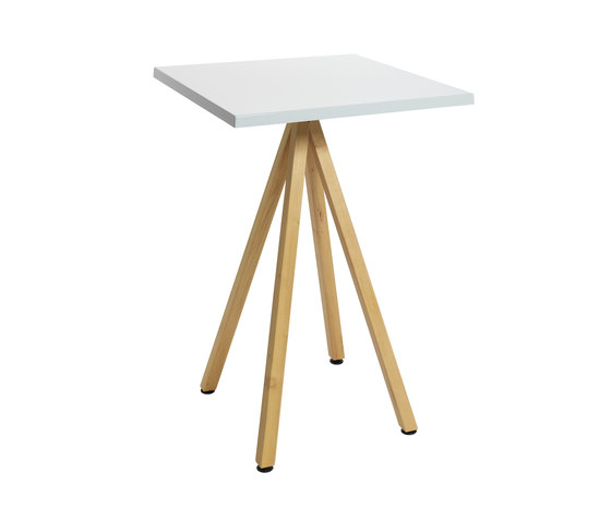 Robinia with tabletop Classic by nanoo by faserplast | Bar tables
