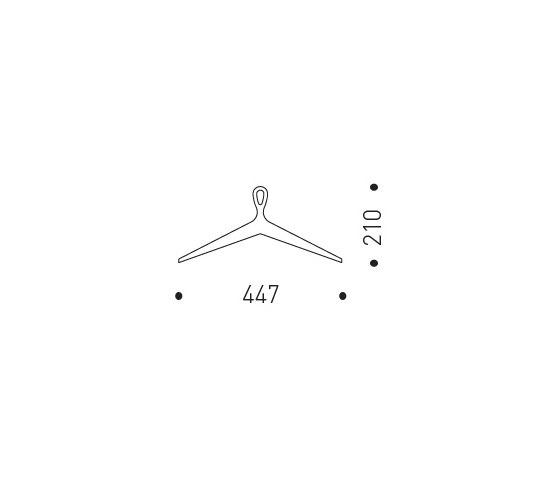 Storck Clothes Hanger by MINT Furniture | Coat hangers