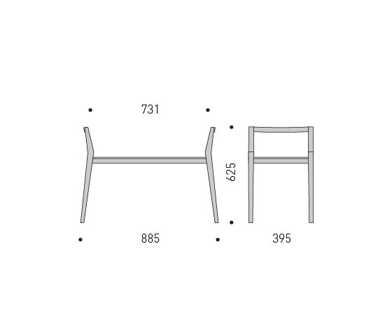 Deer Bench by MINT Furniture | Benches