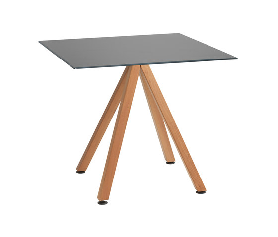 Robinia with tabletop Elegance by nanoo by faserplast   Bistro tables
